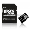 Flash ����� MicroSDHC Silicon Power �� 8 �� (�������)
