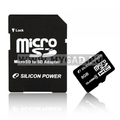 Flash ����� MicroSDHC Silicon Power �� 8 �������� (�������)
