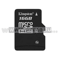 Flash-����� ������ MicroSDHC Kingston �� 16 �� (��� ��������)